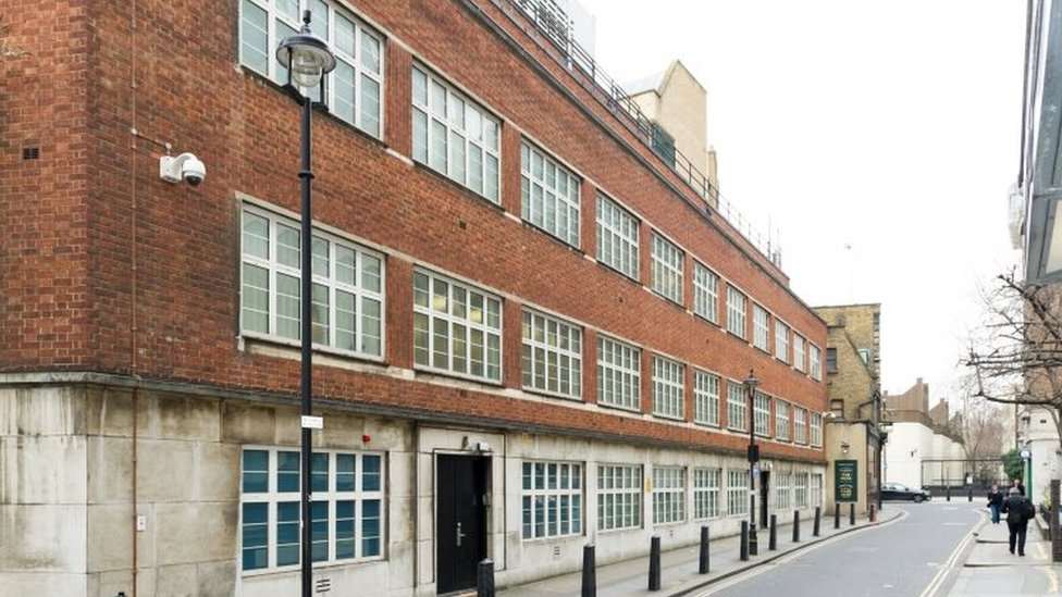 Former offices of GCHQ in Palmer Street, London
