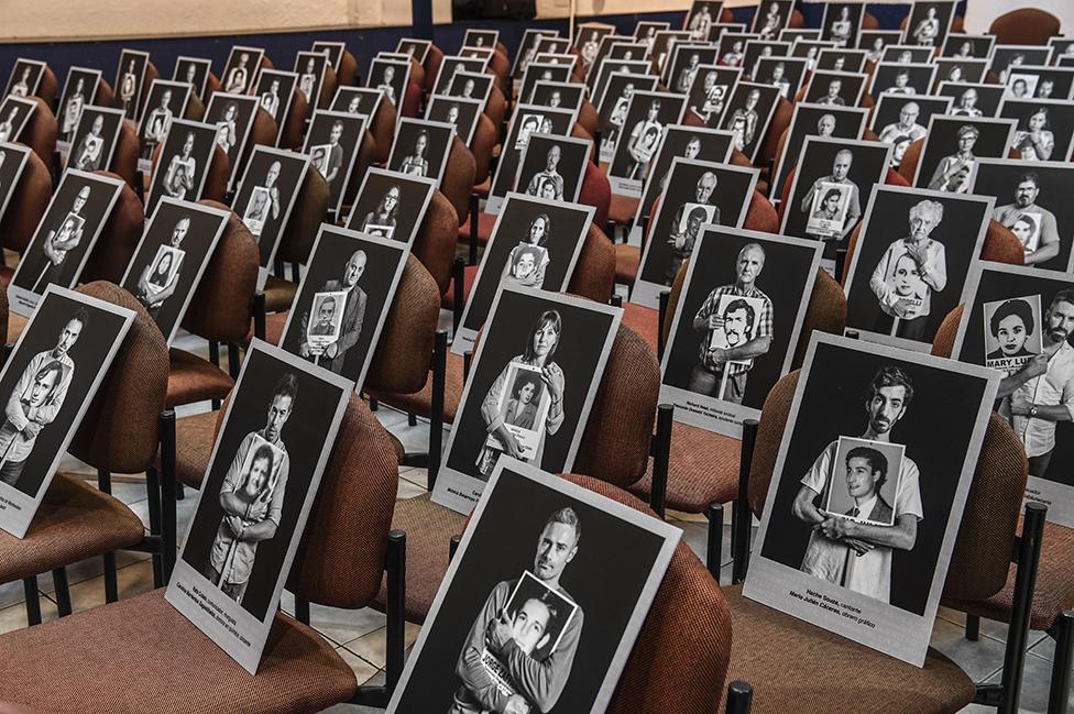 Una imagen de la Marcha del Silencio de 2020, que conmemora a las víctimas del gobierno militar