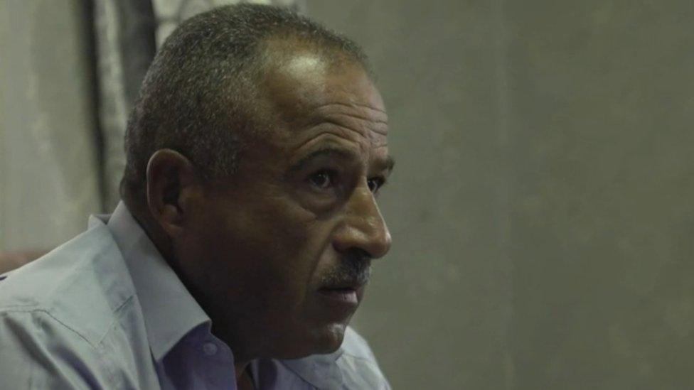 Nabil, padre de Mahmoud Ahmad Thawabteh.
