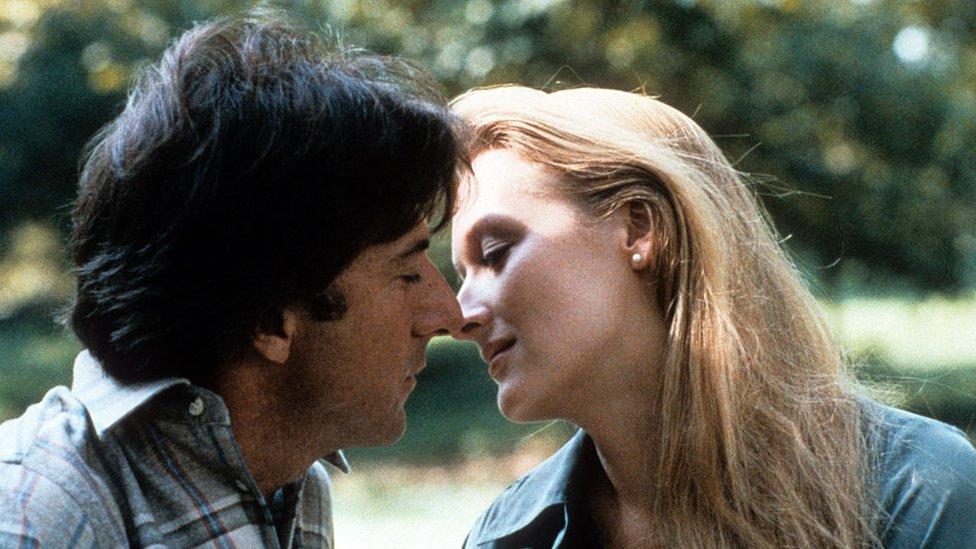 Dustin Hoffman y Meryl Streep en 'Kramer v Kramer'
