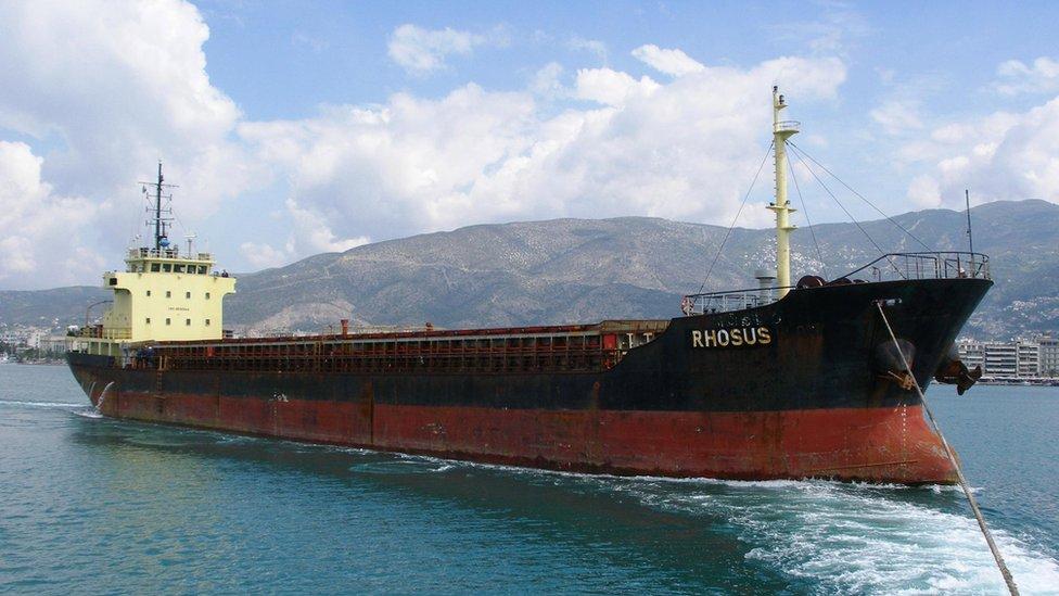 Barco Rhosus