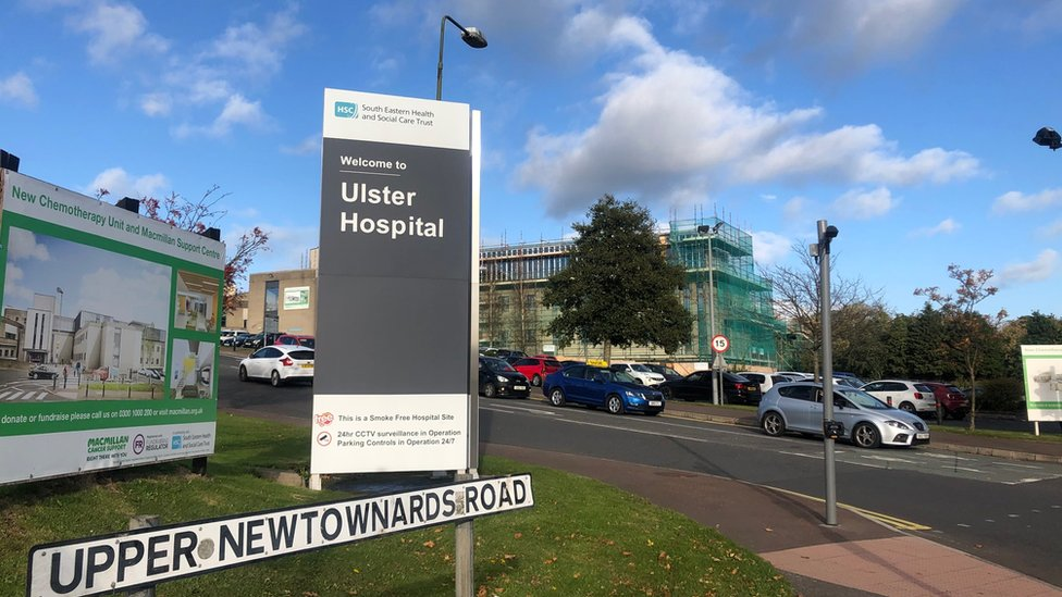 Ulster Hospital in Dundonald