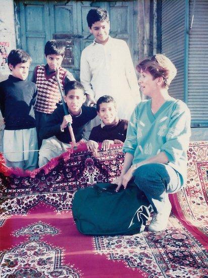 Jonna Mendez en Peshawar, Pakistán