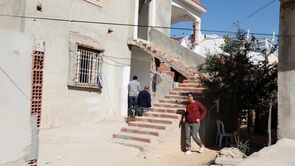 منزل أسرة المشتبه في تنفيذه هجوم نيس