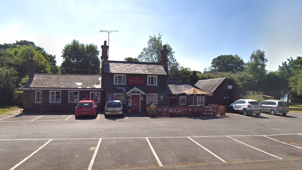 Cricketers pub