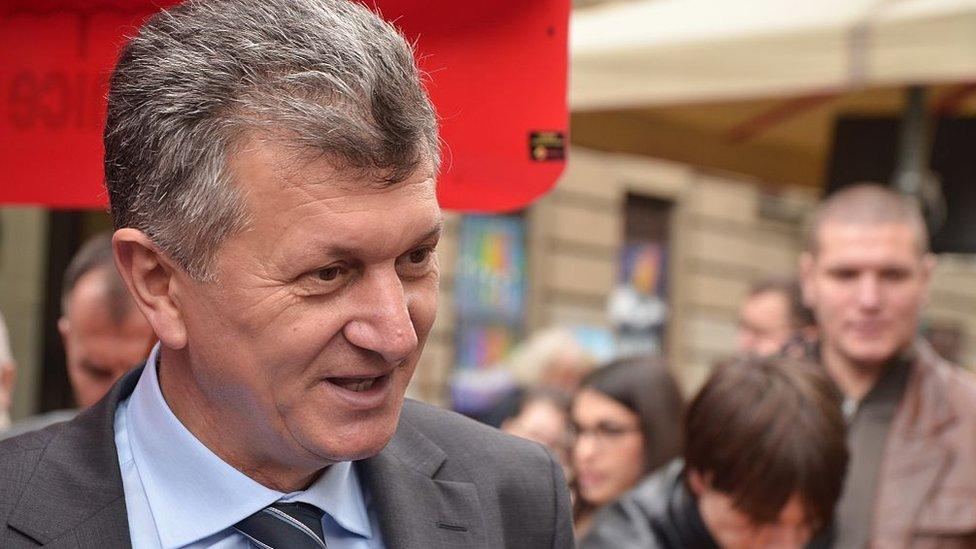 Milan Kujundzic, ministro de salud croata.
