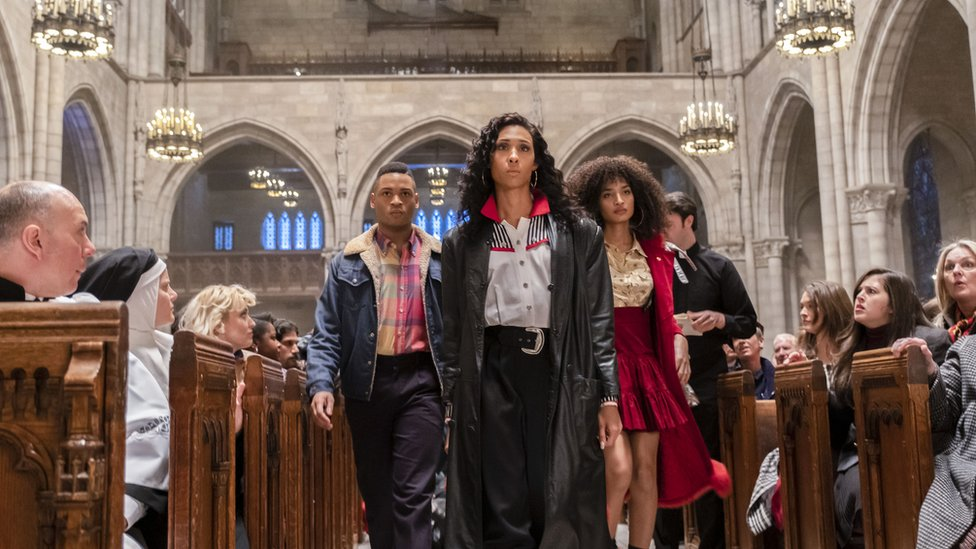 Scene from Pose