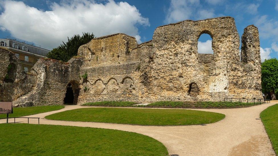 Abbey Ruins in Reading