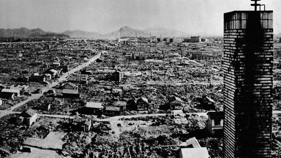Hirošima nakon atomske bombe