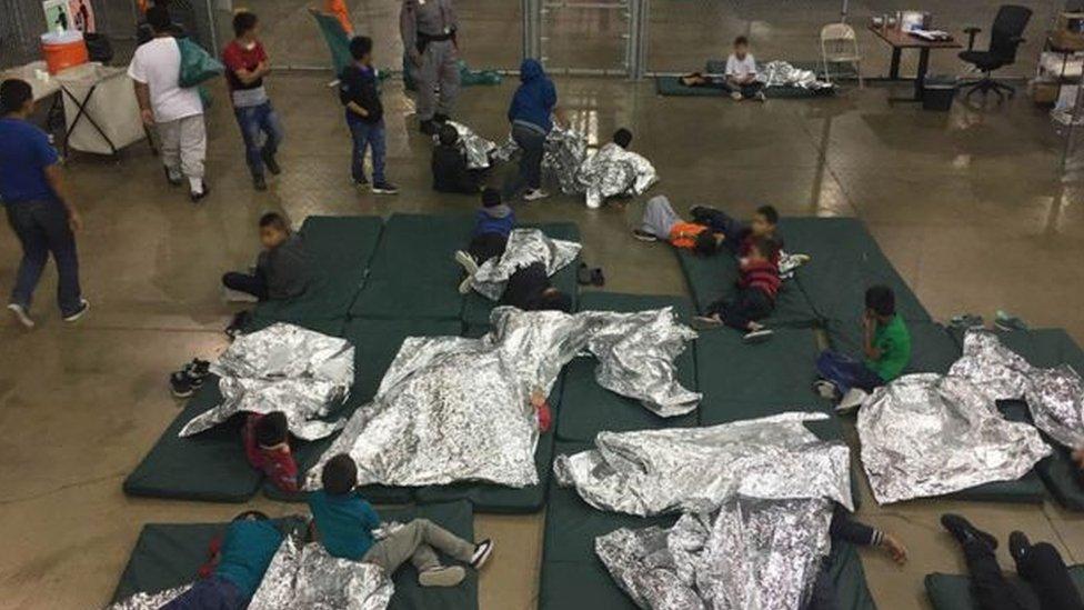أطفال المهاجرين