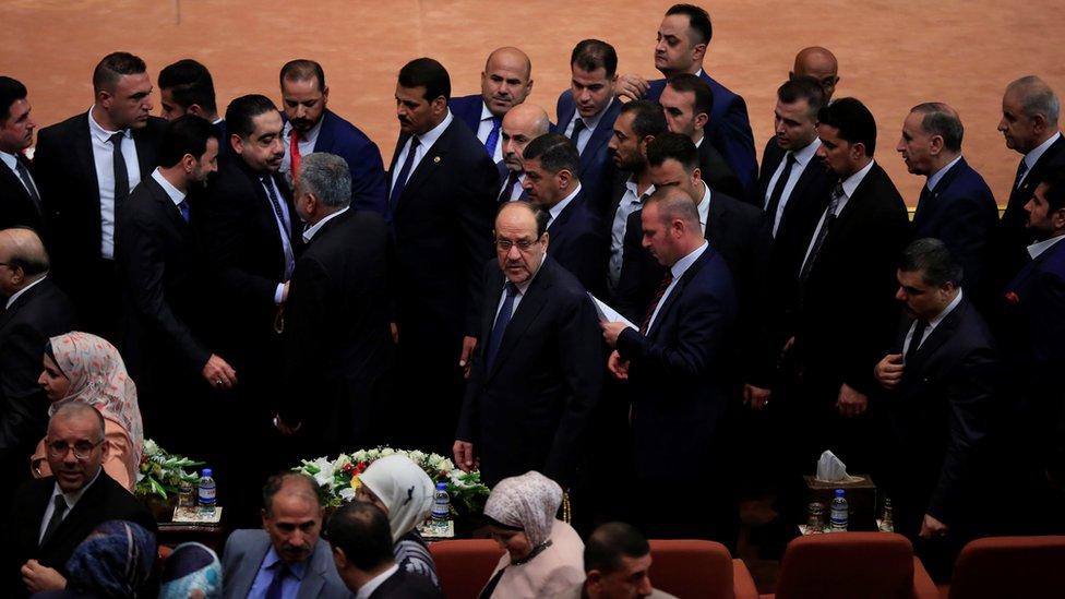 البرلمان العراقي مازال يناقش بعض الحقائب الوزارية