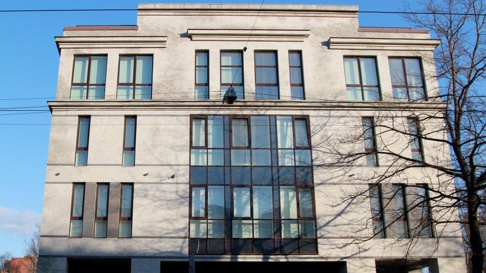 Savuškina 55 u Sant Peterburgu