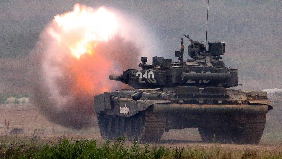 Ruski tenk T-80