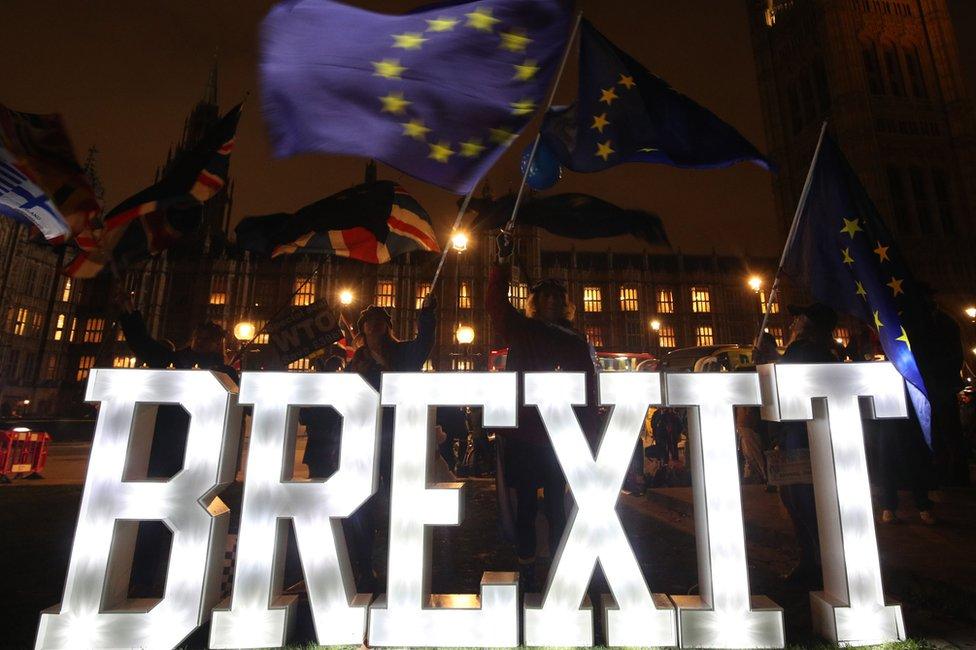 El Brexit es el tema que domina actualmente la incertidumbre europea.