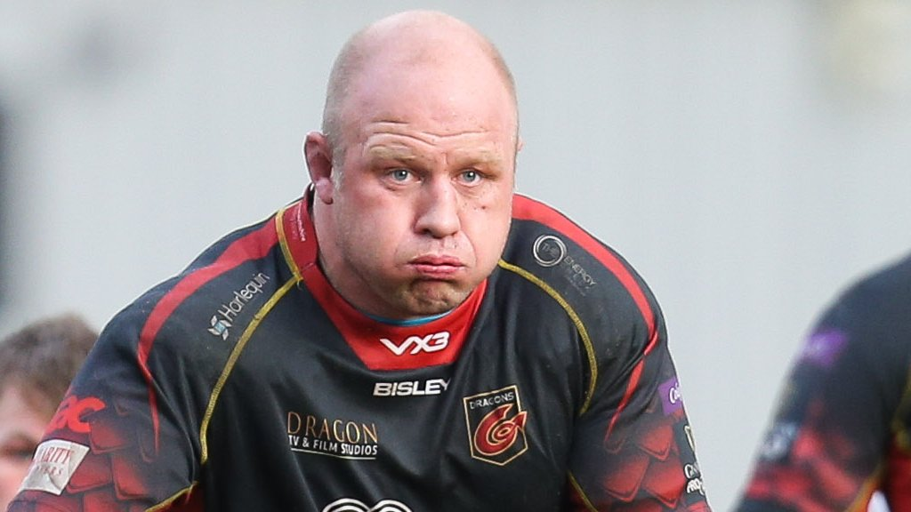 Brok Harris: Prop re-signs for Dragons