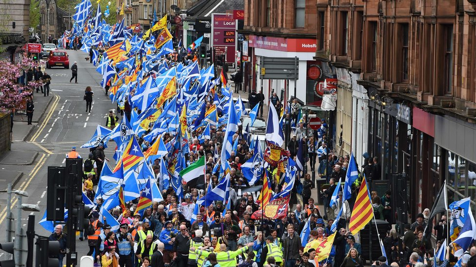 Scottish independence march 2018