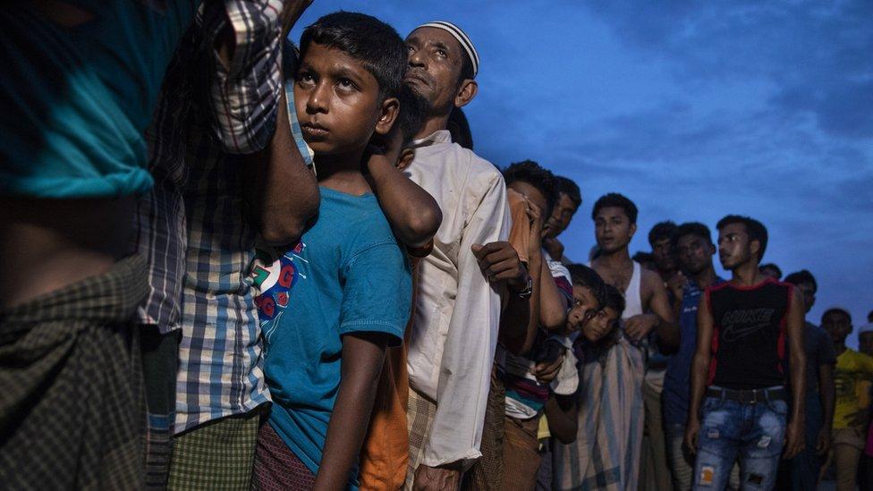 Pengungsi Rohingya di Cox's Bazar