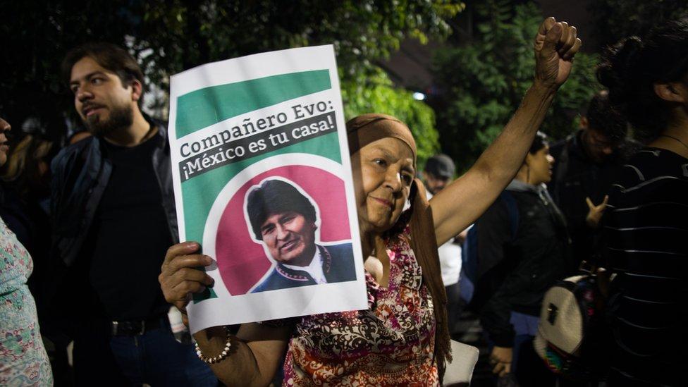 protestas en Mexico