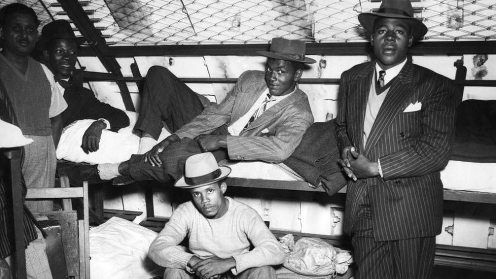Underground dormitories of the Windrush arrivals