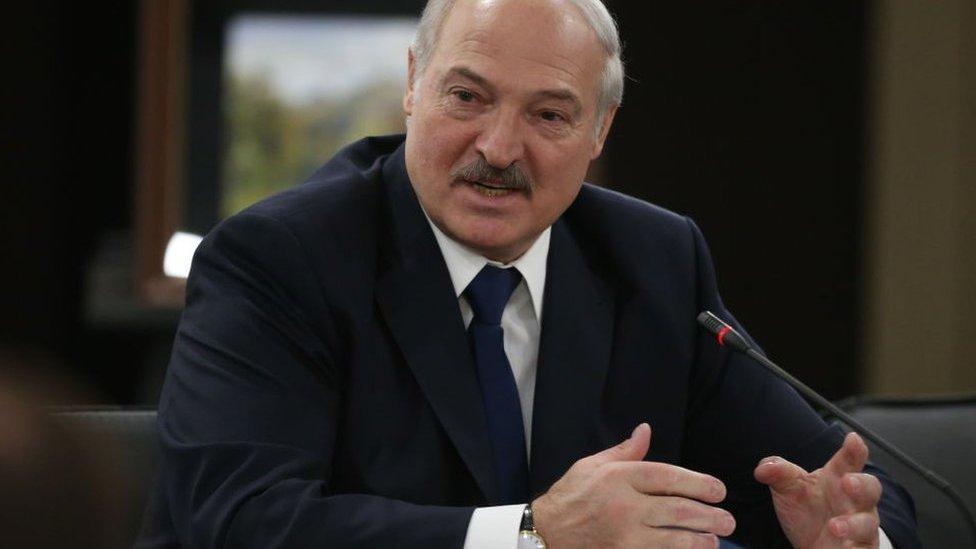 El presidente de Bielorrusia, Aleksandr Lukashenko.
