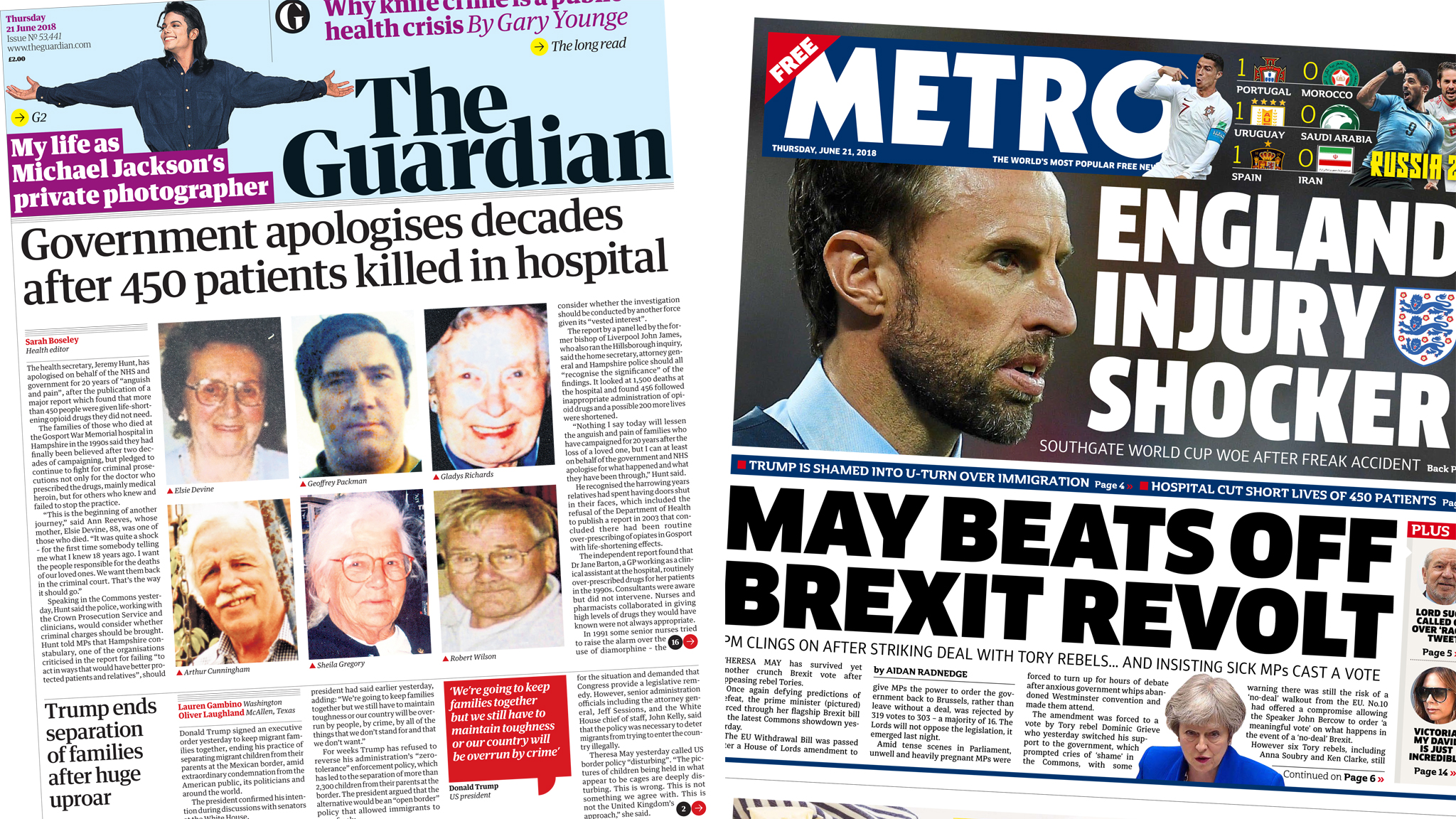 Newspaper headlines: Prosecution call over Gosport hospital deaths