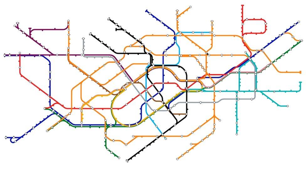 Mapa de metro