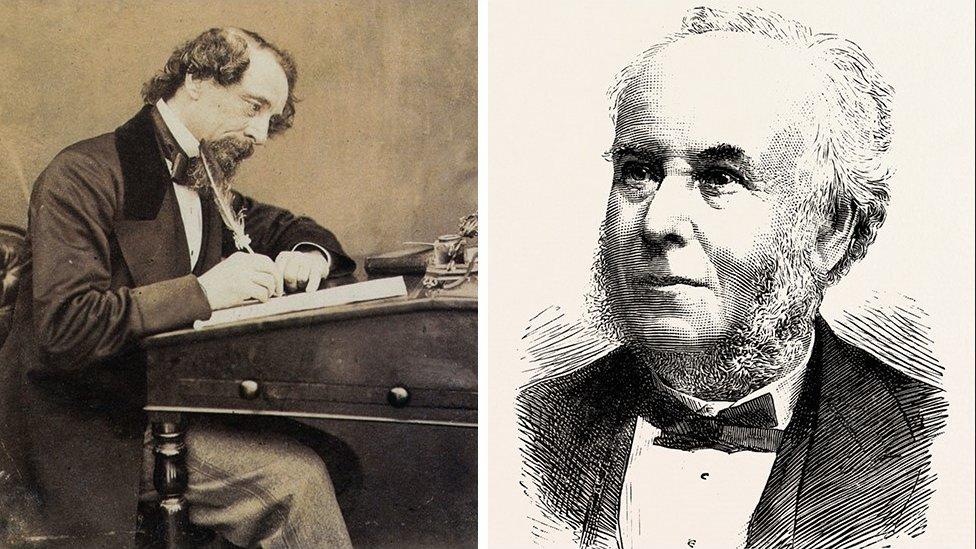 Charles Dickens and Edward Lloyd