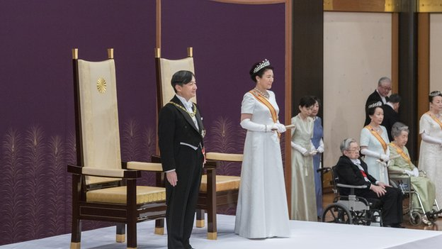 Japan's new emperor Naruhito ascended to the throne on 1 May