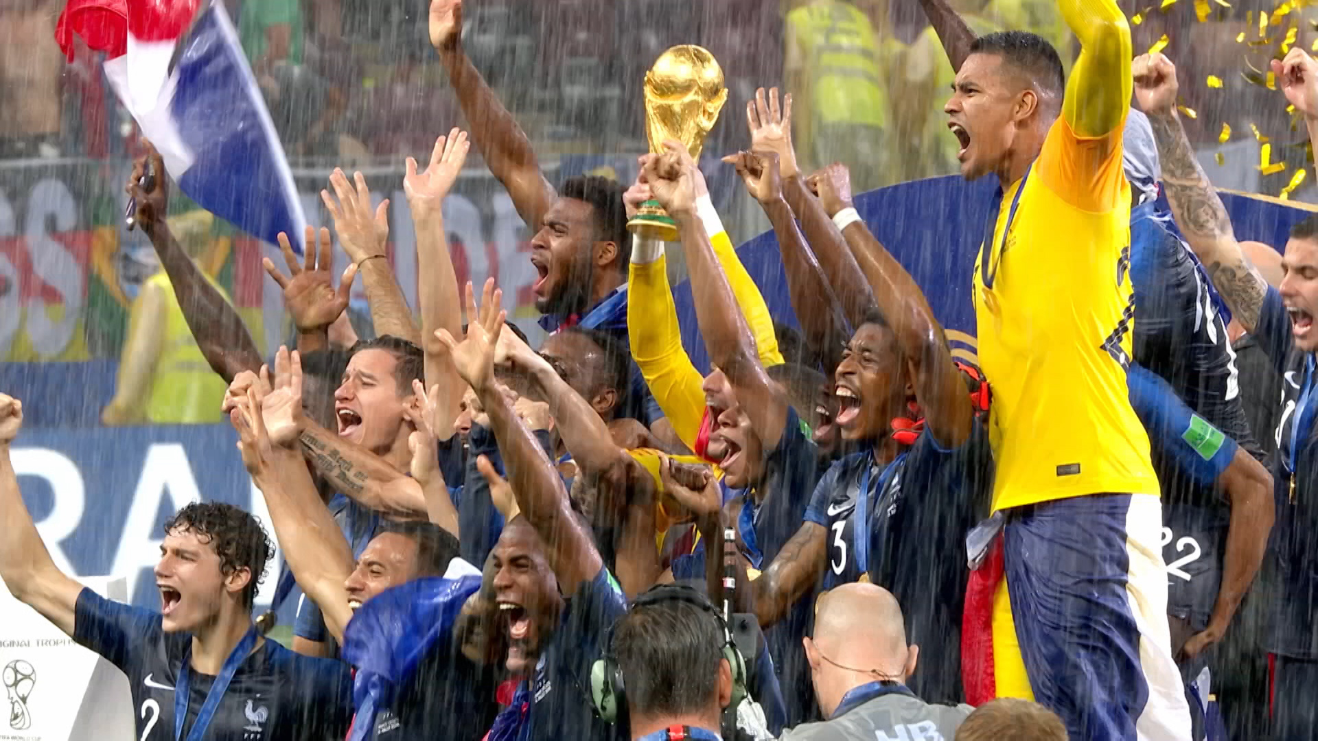 Watch: BBC Sport's closing World Cup montage