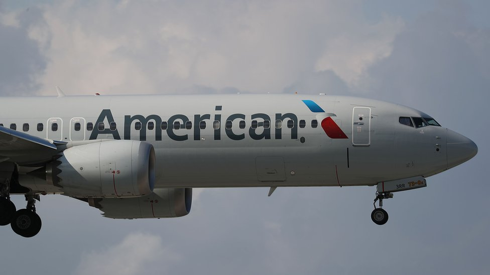 Boeing 737 MAX 8 de American Airlines