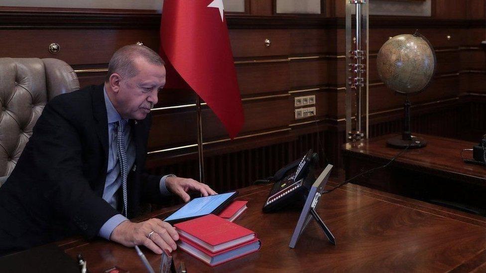 الرئيس التركي، أردوغان، الهجوم التركي في شمال سوريا