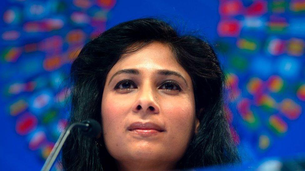 Gita Gopinath, economista jefe del FMI.