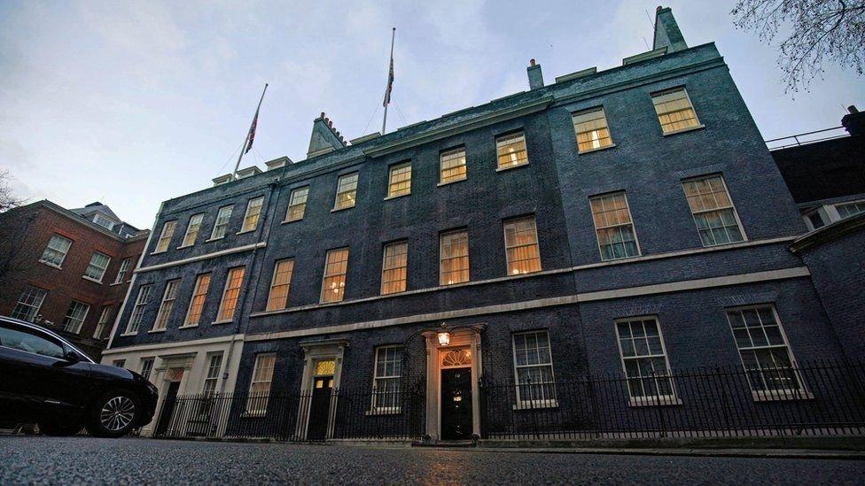 مقر الحكومة البريطانية