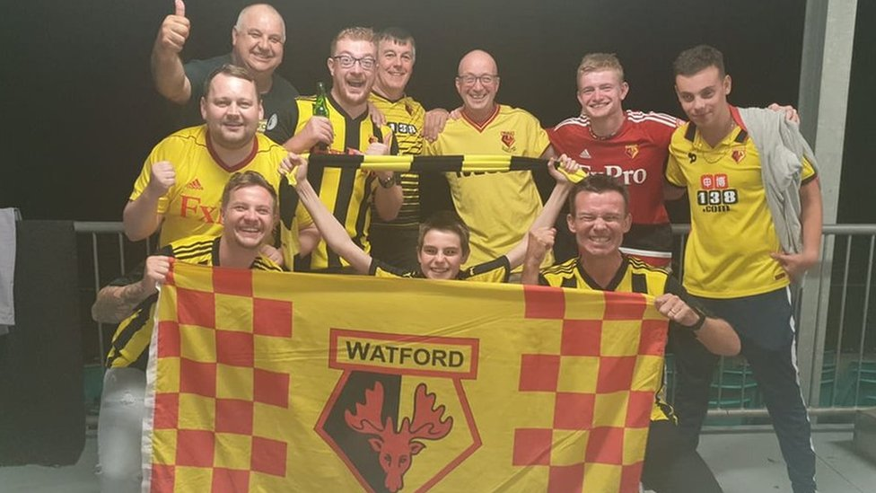 FA Cup final: Hornets fly in for Watford and Manchester City game