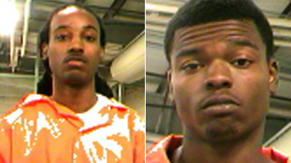 Gerard Gray (R) and Jonterry Bernard, who convicted of attempted murder