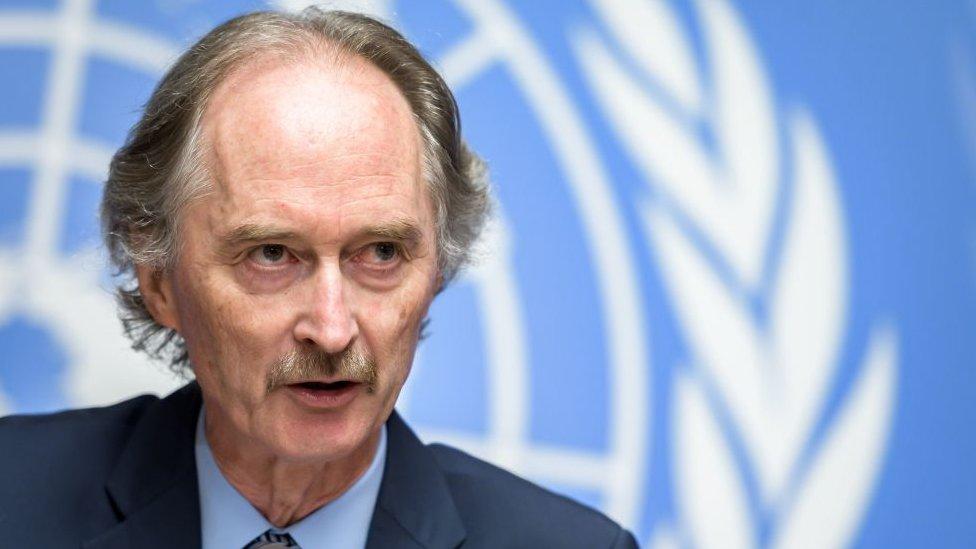 BM'nin Suriye Özel Temsilcisi Geir Pedersen, Komite'nin çalışmalarına başlayacak olmasını 'bir umut ışığı' olarak niteliyor.