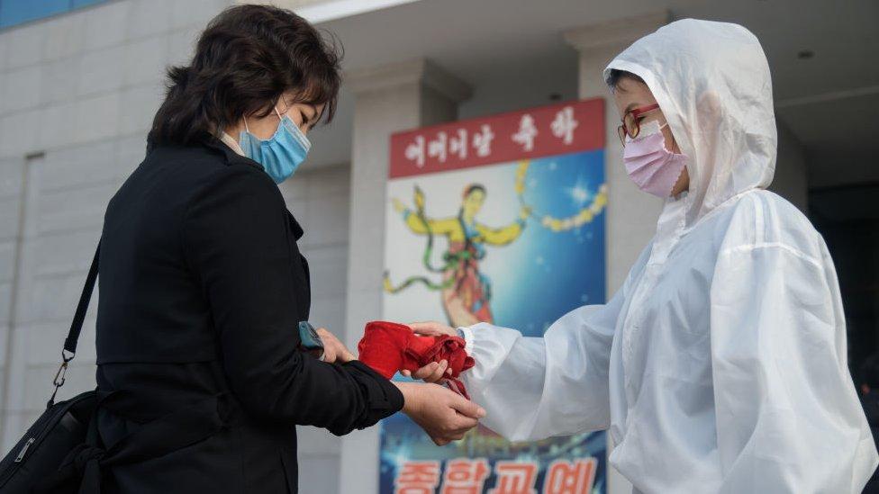 Pandemia en Corea del Norte