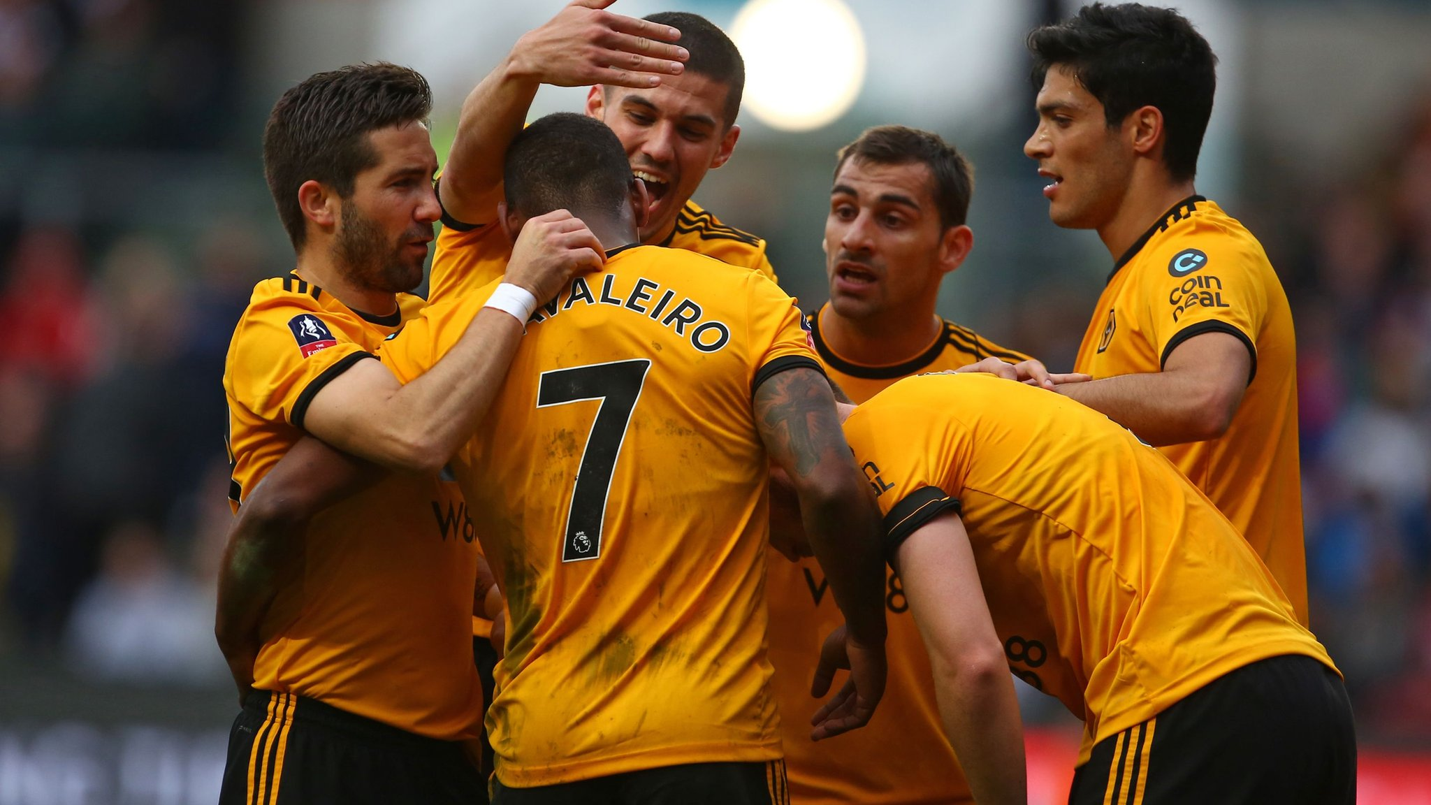 Bristol City 0-1 Wolves: Wanderers reach FA Cup quarter-finals