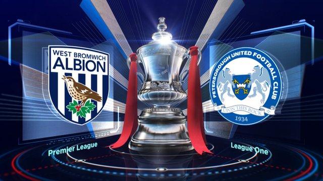 Highlights: West Brom v Peterborough