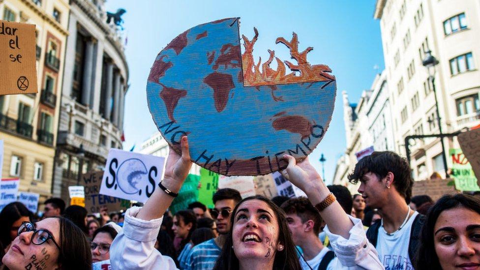 Manifestaciones en Madrid, 2019
