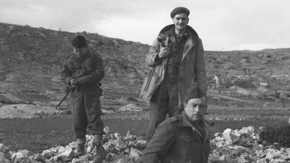 Partisans In Yugoslavia : 1944