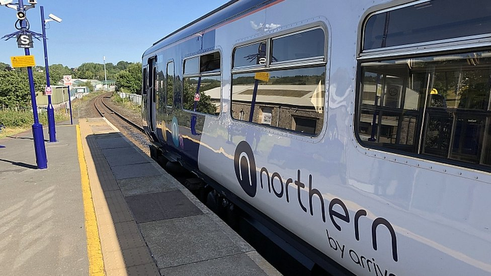 Northern sets date for suspended train service restart