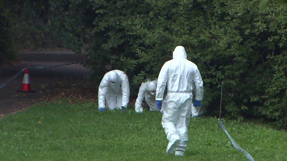 Exmouth crime scene