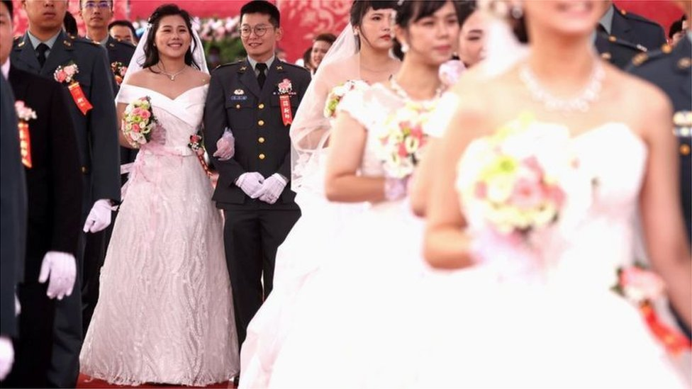 一共有188對新人參加聯合婚禮(Credit: Reuters)
