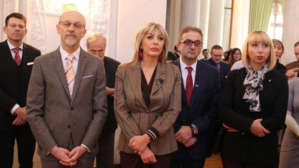 ministarka evropskih integracija Jadranka Joskimović i ministar životne sredine Goran Trivan