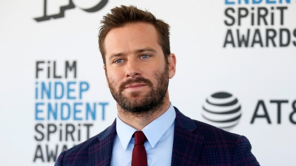 Armie Hammer at the Film Independent Spirit Awards in Santa Monica, California