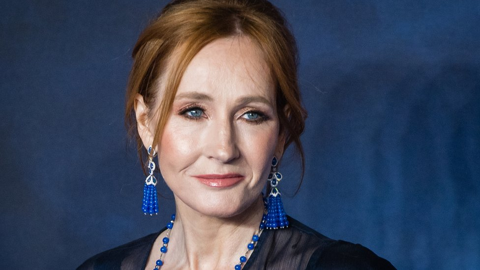 JK Rowling, the author of the Harry Potter series