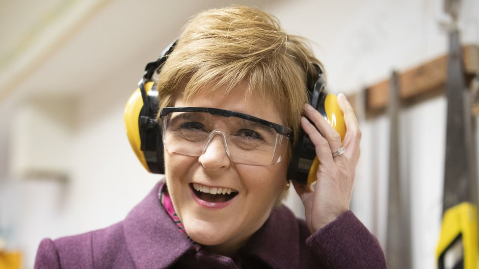 Scottish National Party leader Nicola Sturgeon stressed her party's priority was a second referendum on independence for Scotland