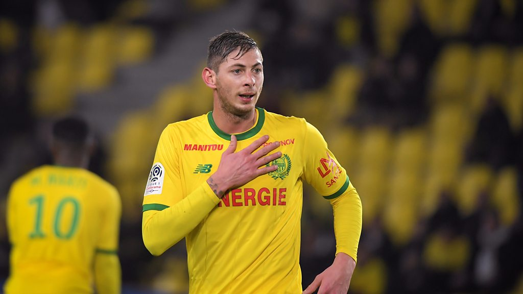Emiliano Sala: Former coach pays tribute to footballer
