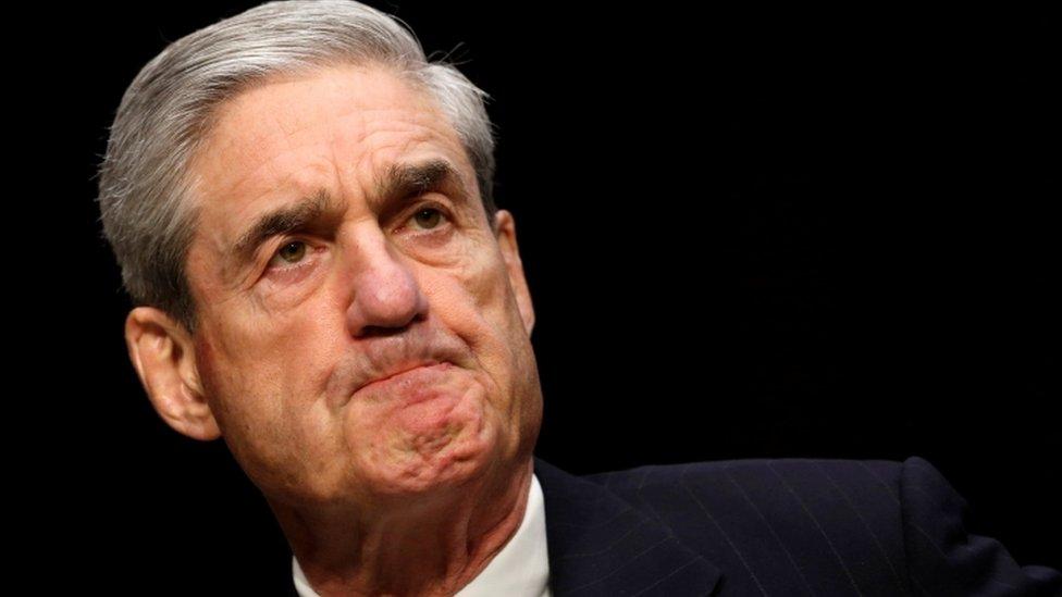 A close-up shot of FBI director Robert Mueller at a Senate hearing in 2013